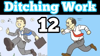 Ditching Work Stage 12 Level Walkthrough Room Escape Game Android Gameplay