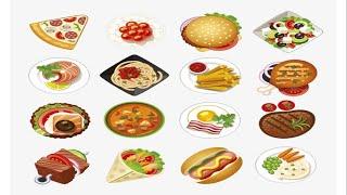 Học tiếng Anh chủ đề các loại đồ ăn/ Foods/ English Online
