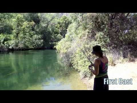 Thumbnail: Lake Berryessa Shore Fishing in Napa, CA. Trippin With Kev and Jess