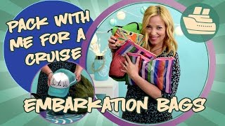Pack With Me for a Cruise - Embarkation Day Bags