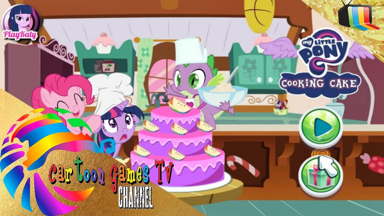 Pastel con my little pony juegos de cocina youtube for Ju3gos de cocina