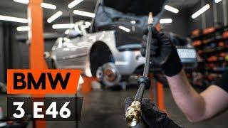 Hvordan erstatning Bremseslange BMW 3-serie 2019 - bruksanvisning