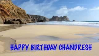 Chandresh   Beaches Playas - Happy Birthday