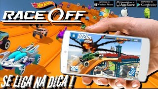 Dica de Jogo Hot Wheels Race off Android/ iOS /Windows trailer + analise + gameplay e DOWNLOAD