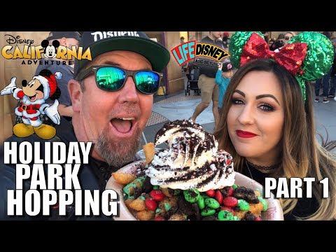 Holiday Park Hopping, Part 1: Yummy New DCA Treat, Bing Bong's Confectionary & Viva Navidad Show