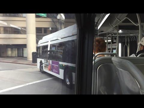 AC Transit HD 60 FPS: Riding New Flyer Xcelsior XD60 2205 on Route 1 (Berkeley BART - Bay Fair BART)