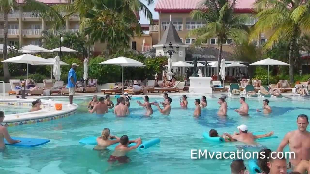 50ca0cc25c523 Sandals Grande St Lucian - YouTube