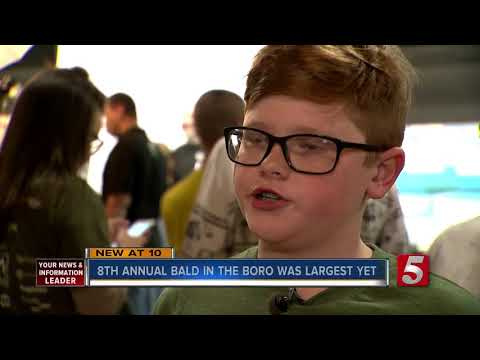8th Annual Bald In The Boro Raises Nearly $45K For Cancer Research