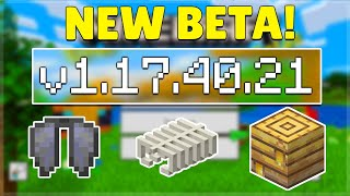 MCPE 1.17.40.21 BETA HUGE WORLD GENERATION CHANGES! Minecraft Pocket Edition Java Parity \u0026 Bug Fixes
