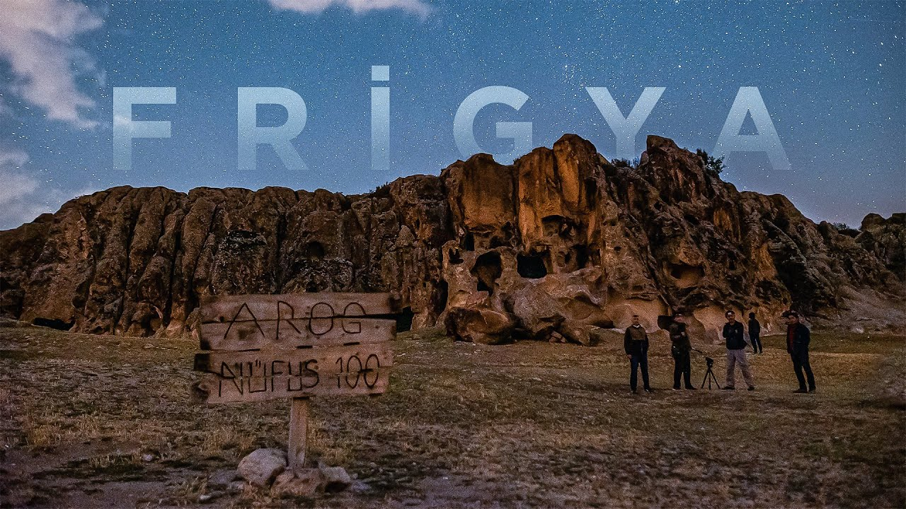 Frigya'da Yıldızları Fotoğraflamak