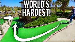 TAKING ON THE WORLD'S HARDEST MINI GOLF HOLE IN ONE FOR A FREE GAME!