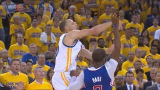 Stephen Curry Does Not Get Foul Calls