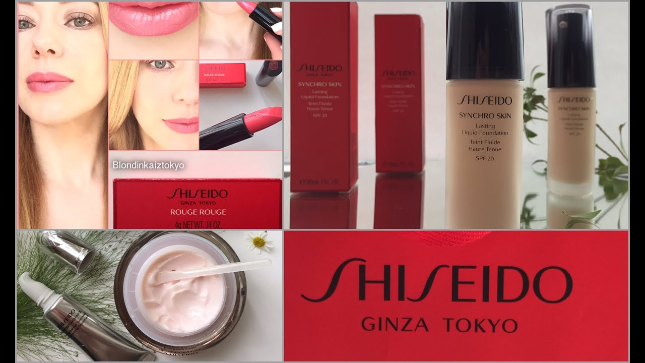 Отзыв: Shiseido Sheer and Perfect Foundation - YouTube