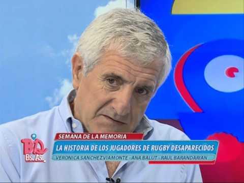 #BDBA - LA HISTORIA DE LOS DESAPARECIDOS EN LA PLATA RUGBY CLUB