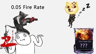 Warframe - 0.05 Fire Rate Strun has a dream