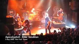 Apocalyptica Enter Sandman