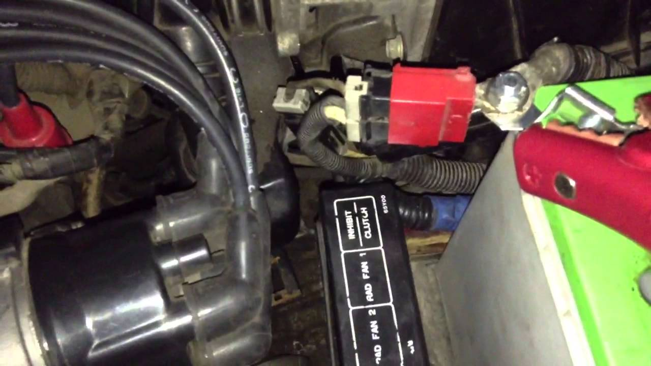 92 Sentra Fuel Rail Voltage Questions