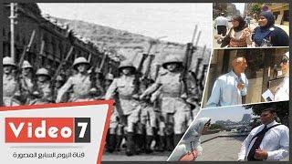 """بالفيديو.. شاهد ماذا يعرف المصريون عن """"عيد الجلاء"""""""