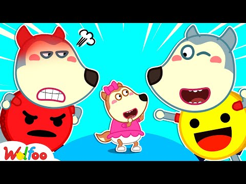 Angry or Happy? Wolfoo Learns About Feelings for Kids - Kids Stories About Emotions   Wolfoo Channel