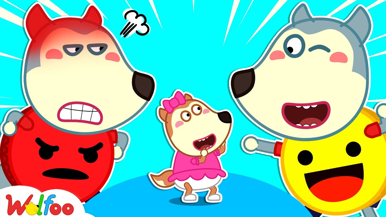 Download Angry or Happy? Wolfoo Learns About Feelings for Kids - Kids Stories About Emotions   Wolfoo Channel