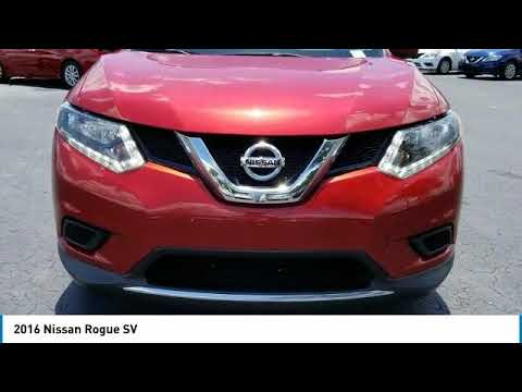 2016 Nissan Rogue DeLand Nissan N507915A