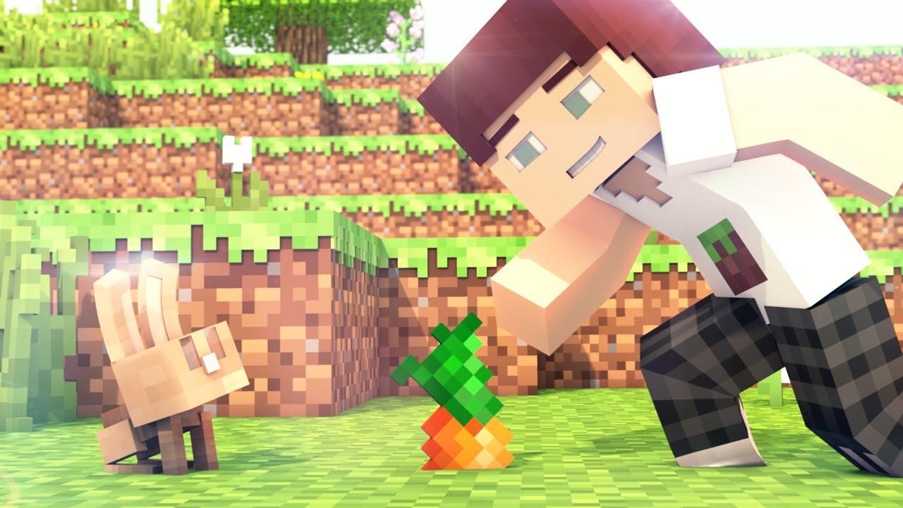 Minecraft Skin Wallpaper Girl Bunnies Minecraft 1 8 Animation Youtube
