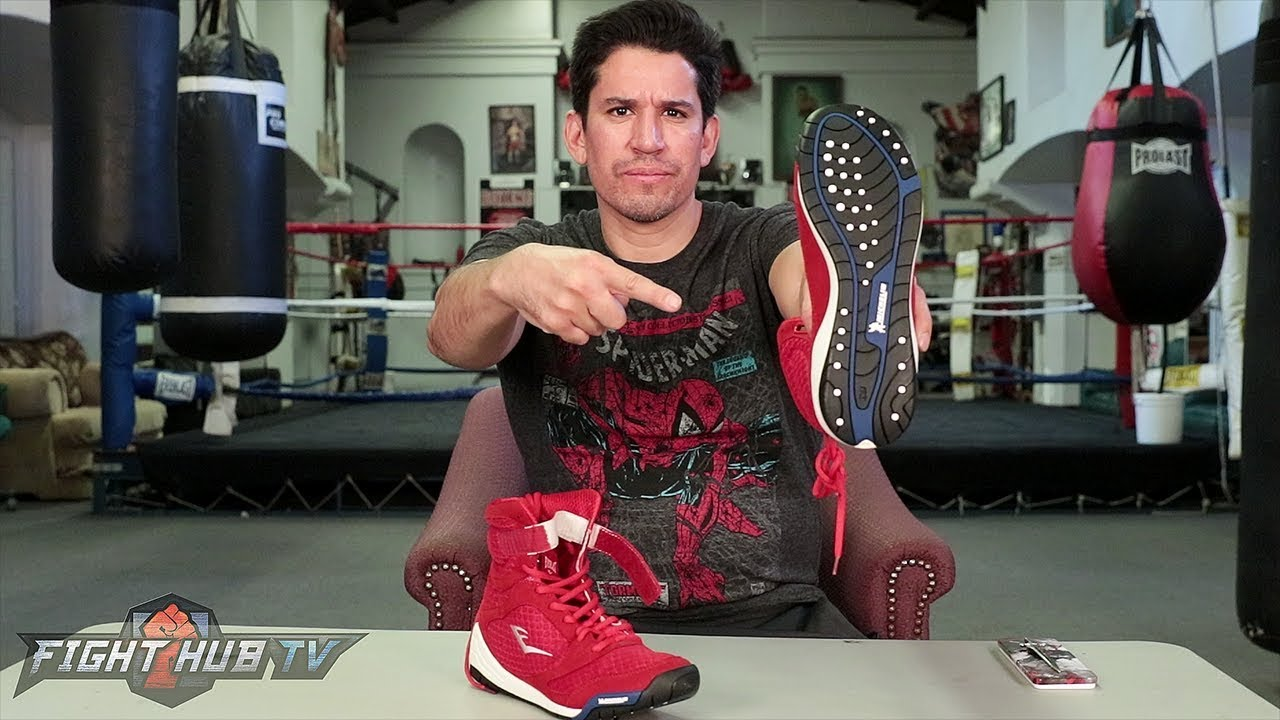 67323759333a8 WHAT   BOXING SHOES MADE OUT OF TIRES!  EVERLAST X MICHELIN COLLAB ...