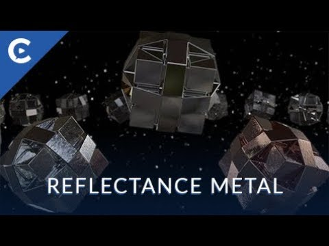 Cinema 4D Reflectance Metal Materials Preset
