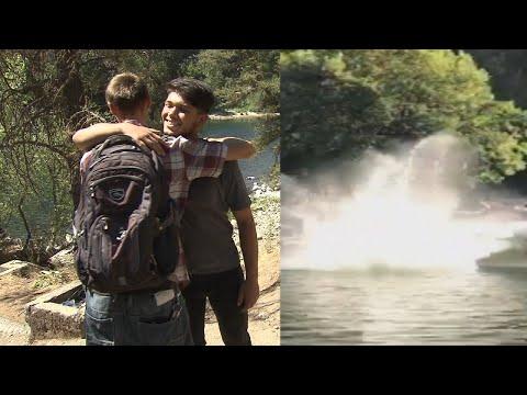 Man Whose Bridge Backflip Went Wrong Meets Heroes Who Saved His Life