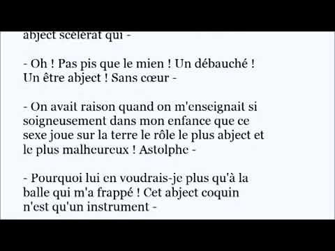 Abject French Word Pronunciation In A Sentence Youtube
