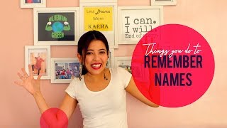 Things You Do To Remember Names | Barkha Singh ft. Viraj Ghelani