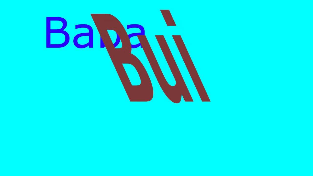 bababui