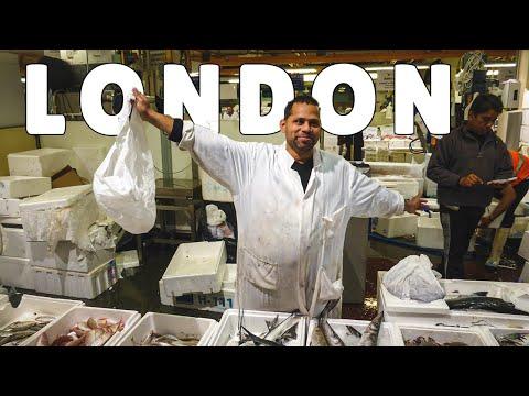 Billingsgate Fish Market | London Travel Vlog