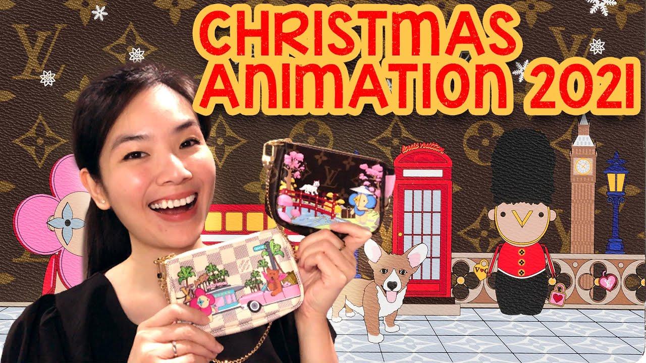 Louis Vuitton Christmas Animation 2021