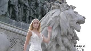 Свадебная мода. Показ свадебных платьев Eddy K. Milano 2017