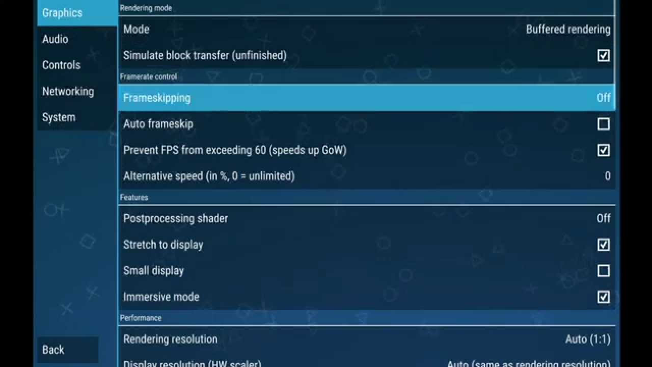 Ppsspp Emulator 1 0 Settings Configuration For Android Nexus 7 720p Hd Sony Psp Youtube