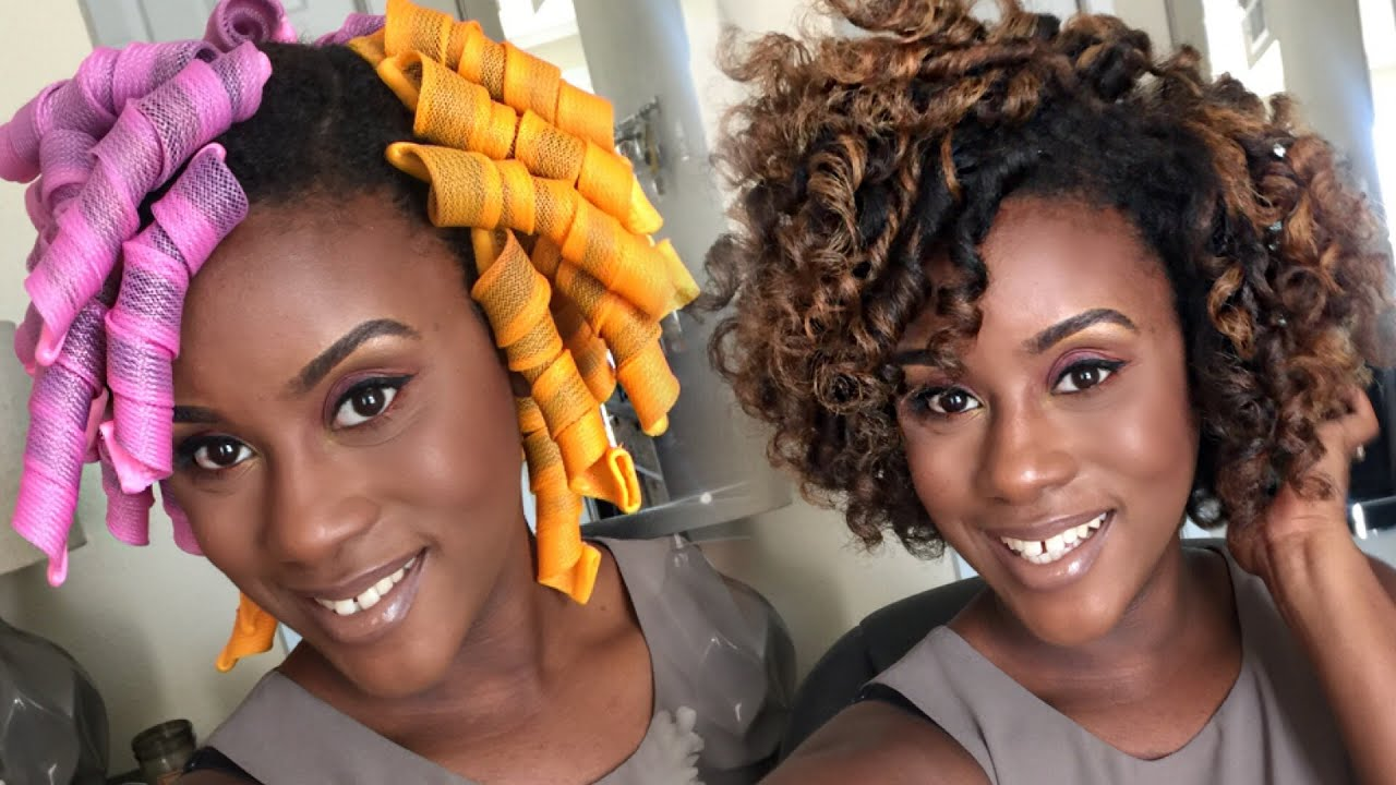 Official Curl Formers Tutorial On Natural Hair Iknowlee Youtube
