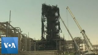 Damage at Aramco Oil Facility in Khurais Following Drone Attack