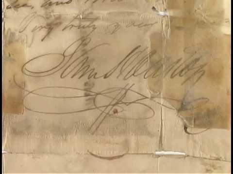 Sam Houston Letter Conservation Documentary Part 5
