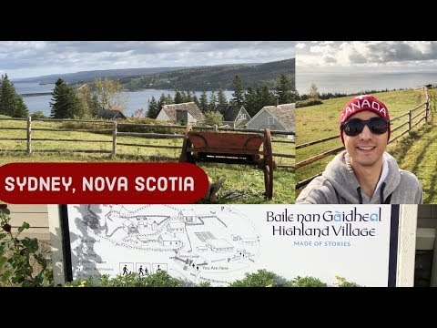 What To Do In SYDNEY, NOVA SCOTIA, CANADA L CRUISE VLOG L Ep. 18