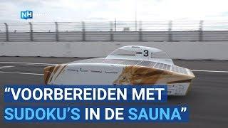 World Solar Challenge 2019 training op Circuit Zandvoort door Vattenfal Solar Team