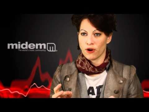 Amanda Palmer | The Dresden Dolls | MIDEM Interview