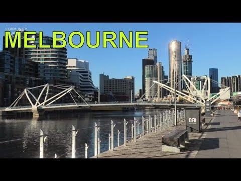 SOUTH WHARF MELBOURNE CITY TOUR AROUND DFO AND RESTAURANTS - AUSTRALIA