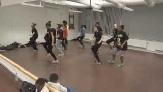 QSean - Nuh Behaviah a  Dancehall Choreography by Melpo Mellz DOUBLE TROUBLE