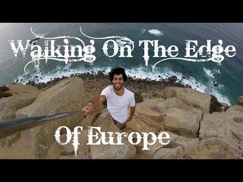 Walking on the EDGE of EUROPE (Cabo da Roca & Praia Grande) (Vlog #25)