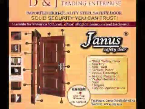 JANUS STEEL SAFETY DOOR , SECURITY DOOR, 防盗门 , 安全门。