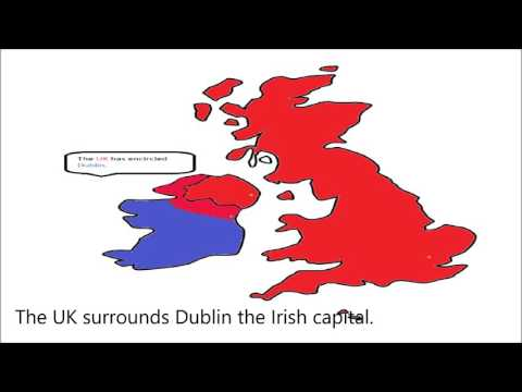 If the UK and Ireland went to war.