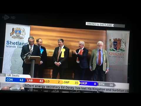 General election 2015 Scotland Orkney & Shetland