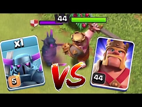 Thumbnail: WHO IS STRONGER? 2!!!🔸MAX PEKKA vs. LVL 44 KING!!🔸 Clash of clans