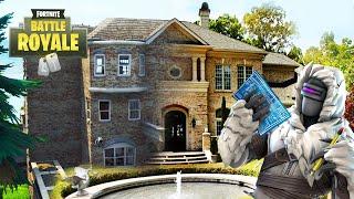 I CREATE MY HOUSE (REAL LIFE) IN FORTNITE ! CREATIONS CREATIVE MODE! - ElChurches